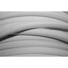 8mm hvid Elastik snor MONO FLEX PP (10m)