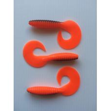 Jig haler 85mm Orange 1stk
