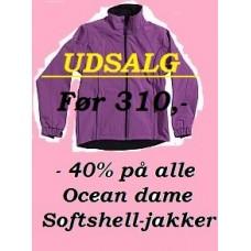 UDSALG !! Dame softshell
