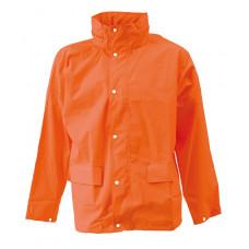 Elka Dry zone regnjakke orange