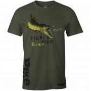 T-shirt Armygrøn Hungry Pike