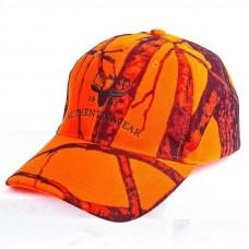 Kasket i orange camou