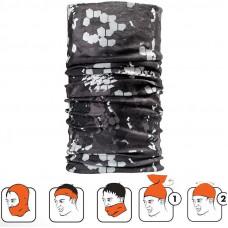Multi tørklæde / Halsedisse pixel camou sort